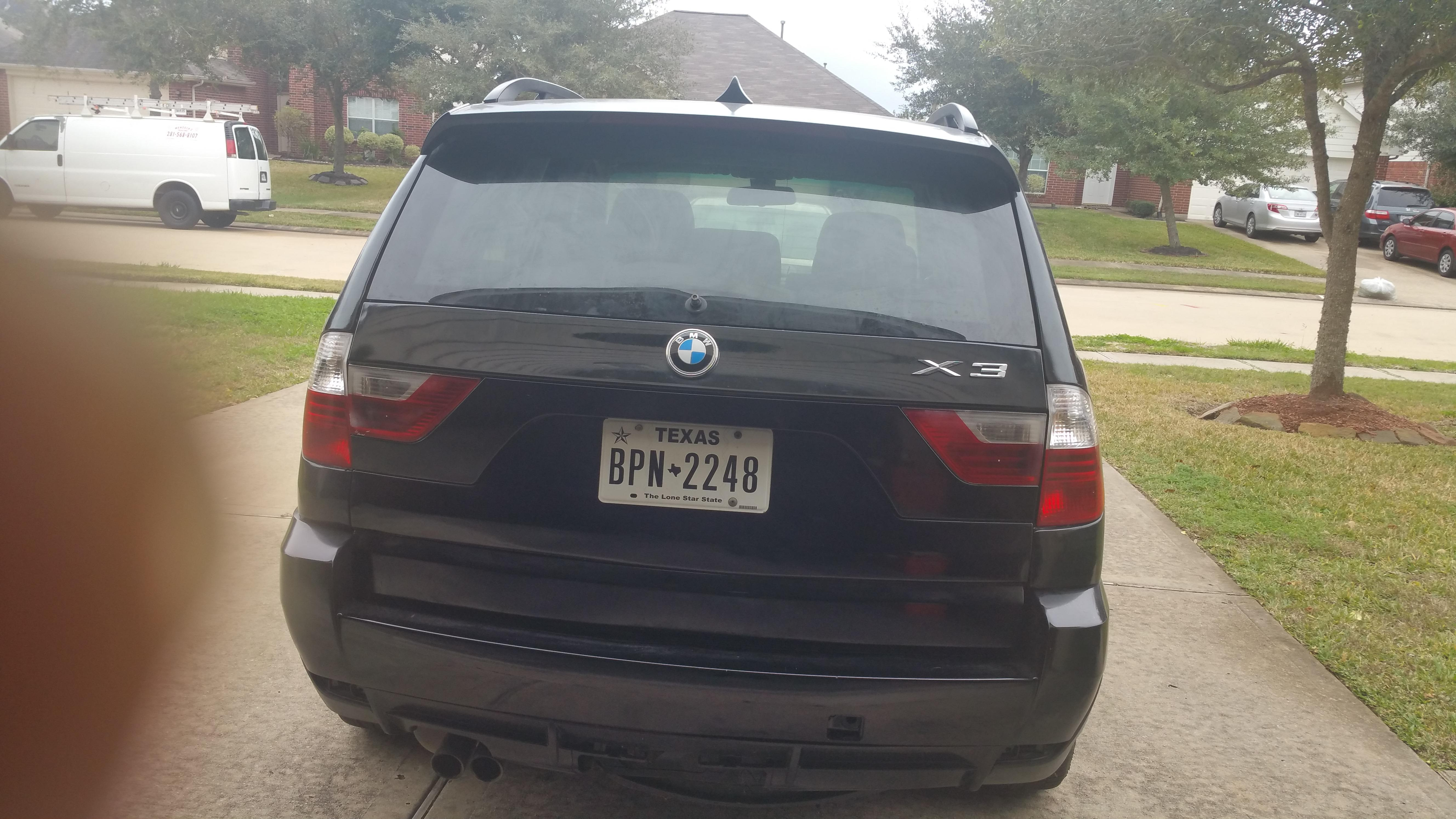 Junk 2010 BMW X3 in Houston