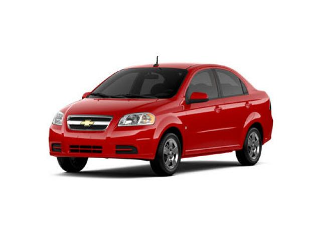 Junk 2010 Chevrolet Aveo in Culver City