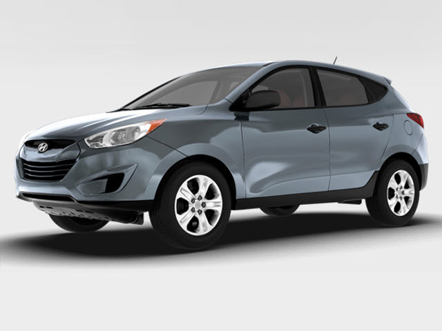 Junk 2010 Hyundai Tucson in Dallas