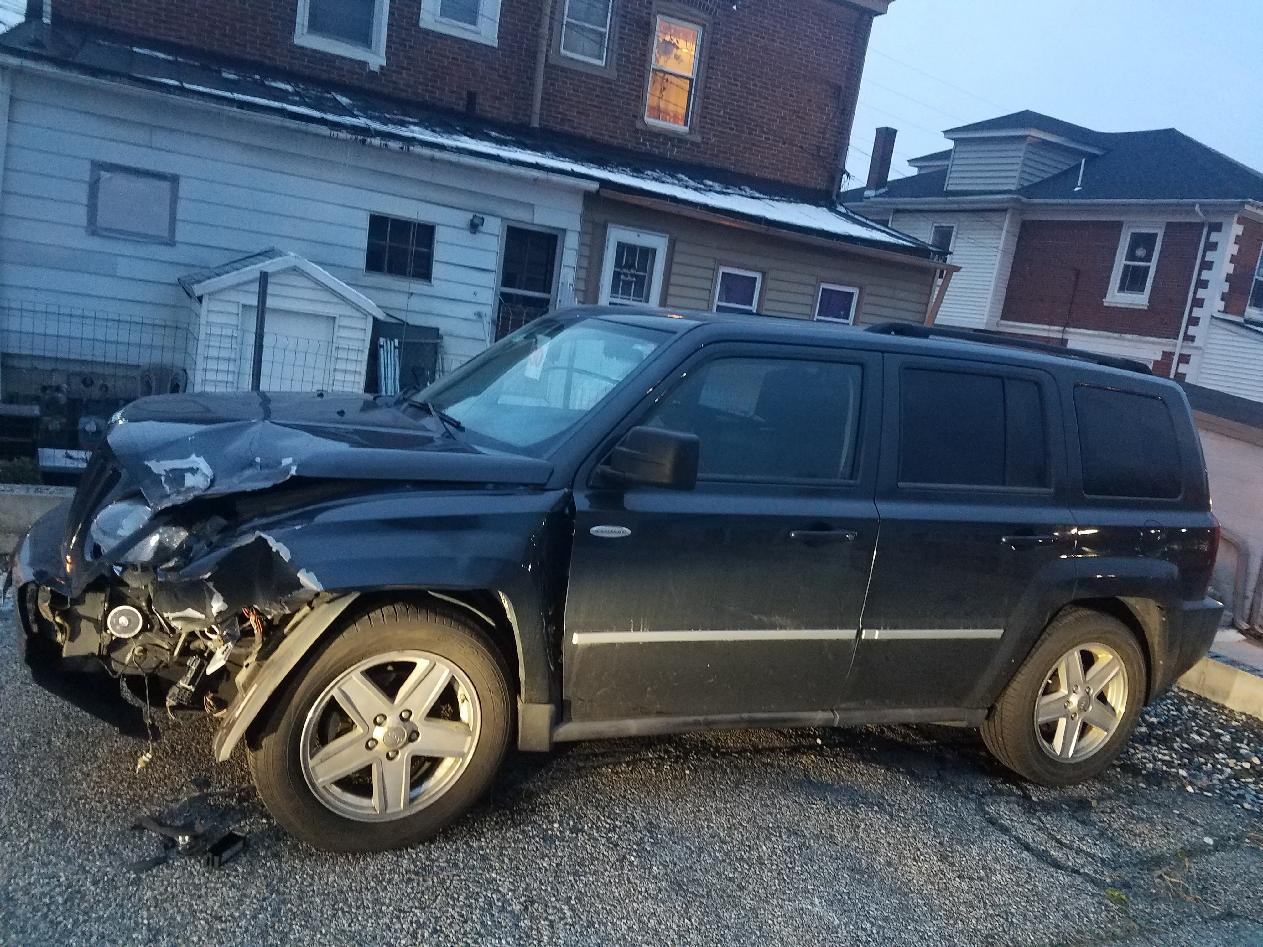 Junk 2010 Jeep Patriot in Norristown