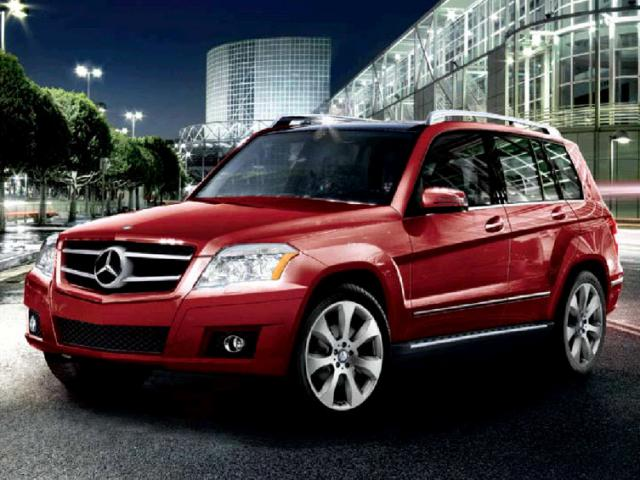 Junk 2010 Mercedes-Benz GLK in Austin