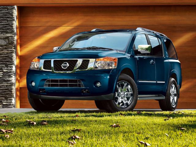 Junk 2010 Nissan Armada in Dallas