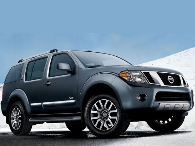 Junk 2010 Nissan Pathfinder in Houston