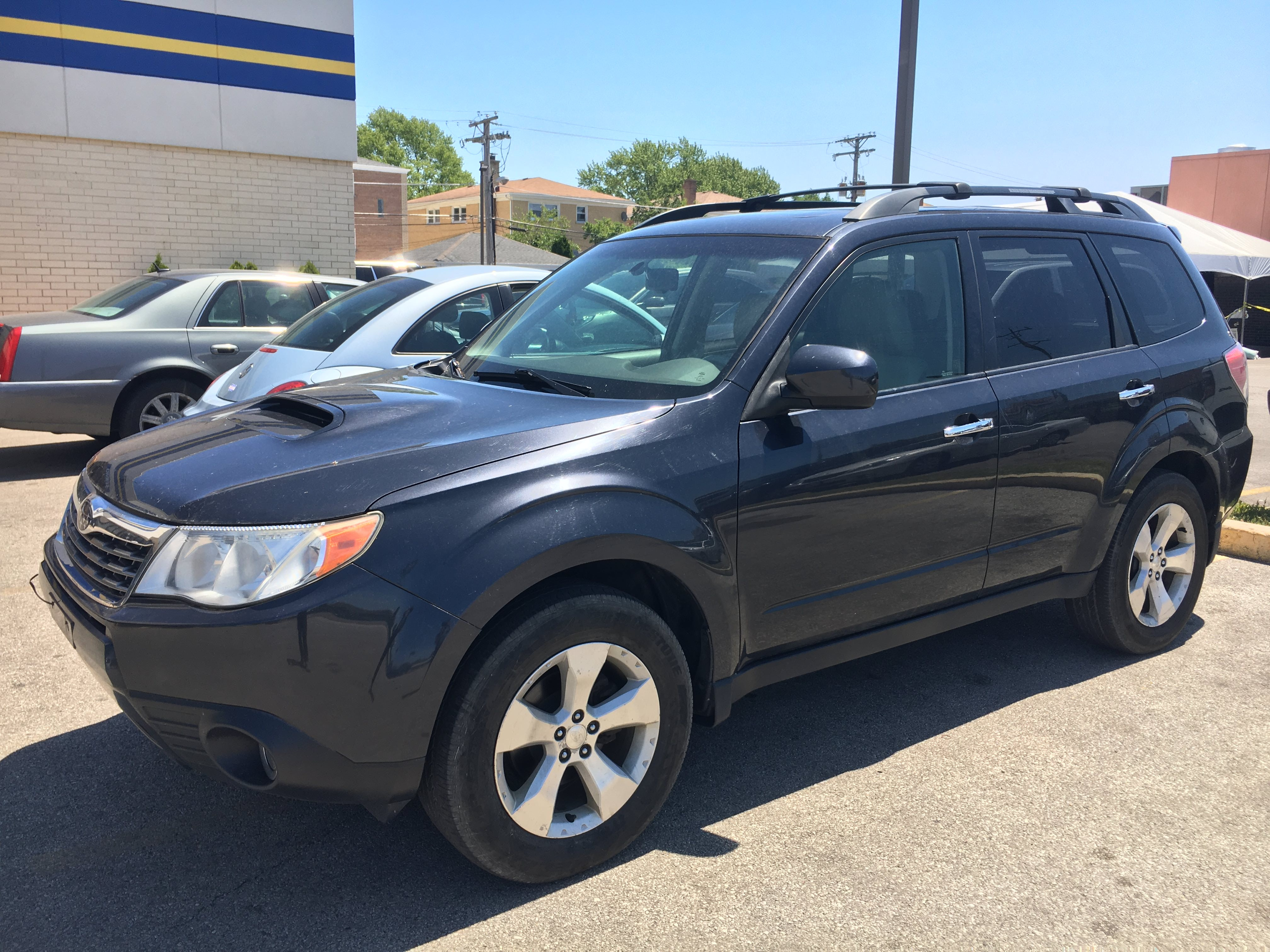 Junk 2010 Subaru Forester in Chicago