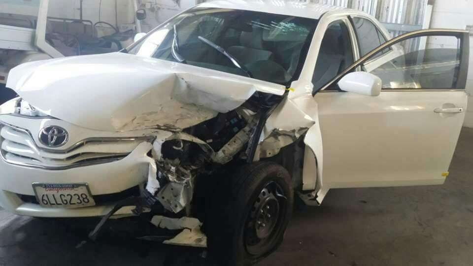 Junk 2010 Toyota Camry in Fullerton