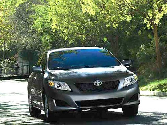 Junk 2010 Toyota Corolla in Windsor Locks
