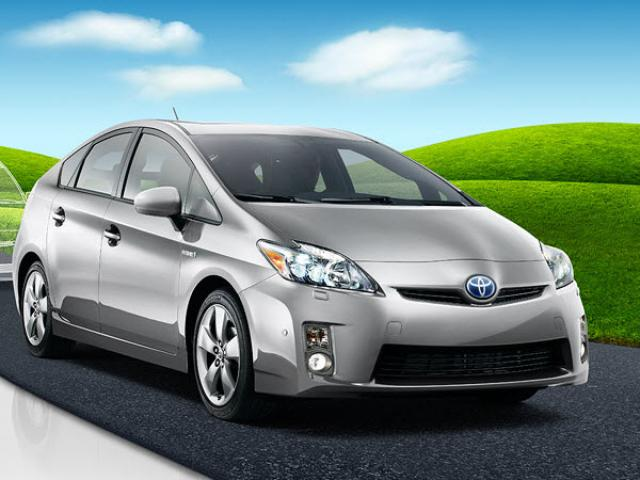 Junk 2010 Toyota Prius in Round Rock