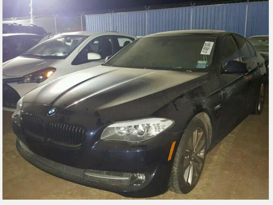 Junk 2011 BMW 535 in Cypress