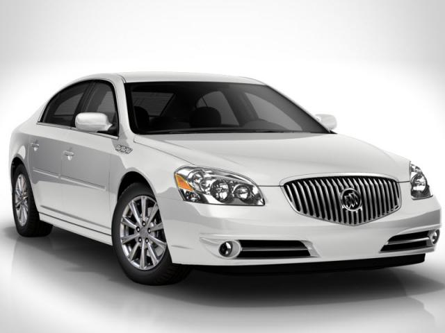 Junk 2011 Buick Lucerne in Houston