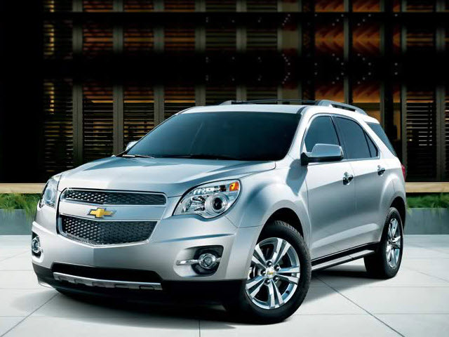 Junk 2011 Chevrolet Equinox in Shreveport
