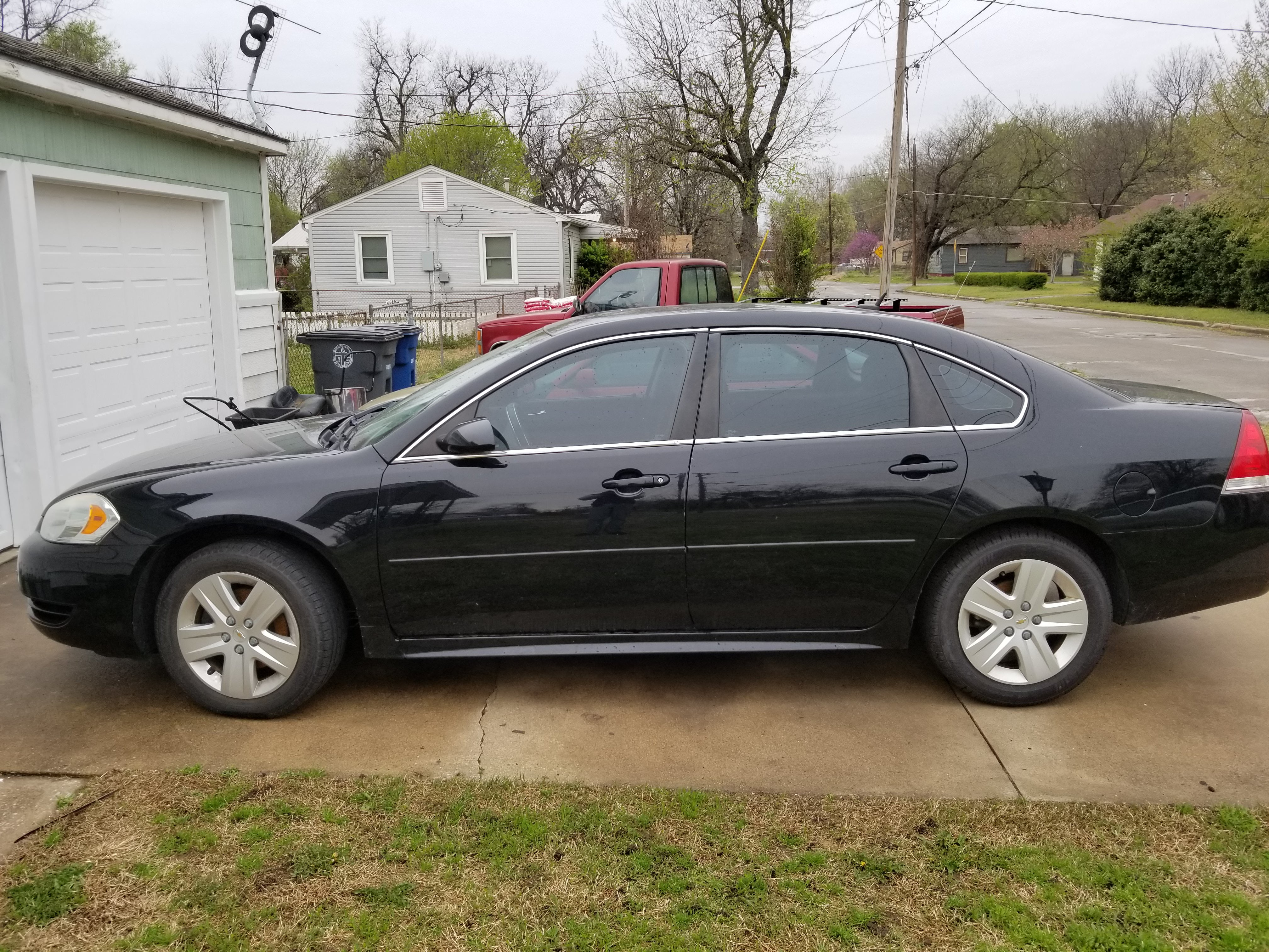 Junk 2011 Chevrolet Impala in Sand Springs