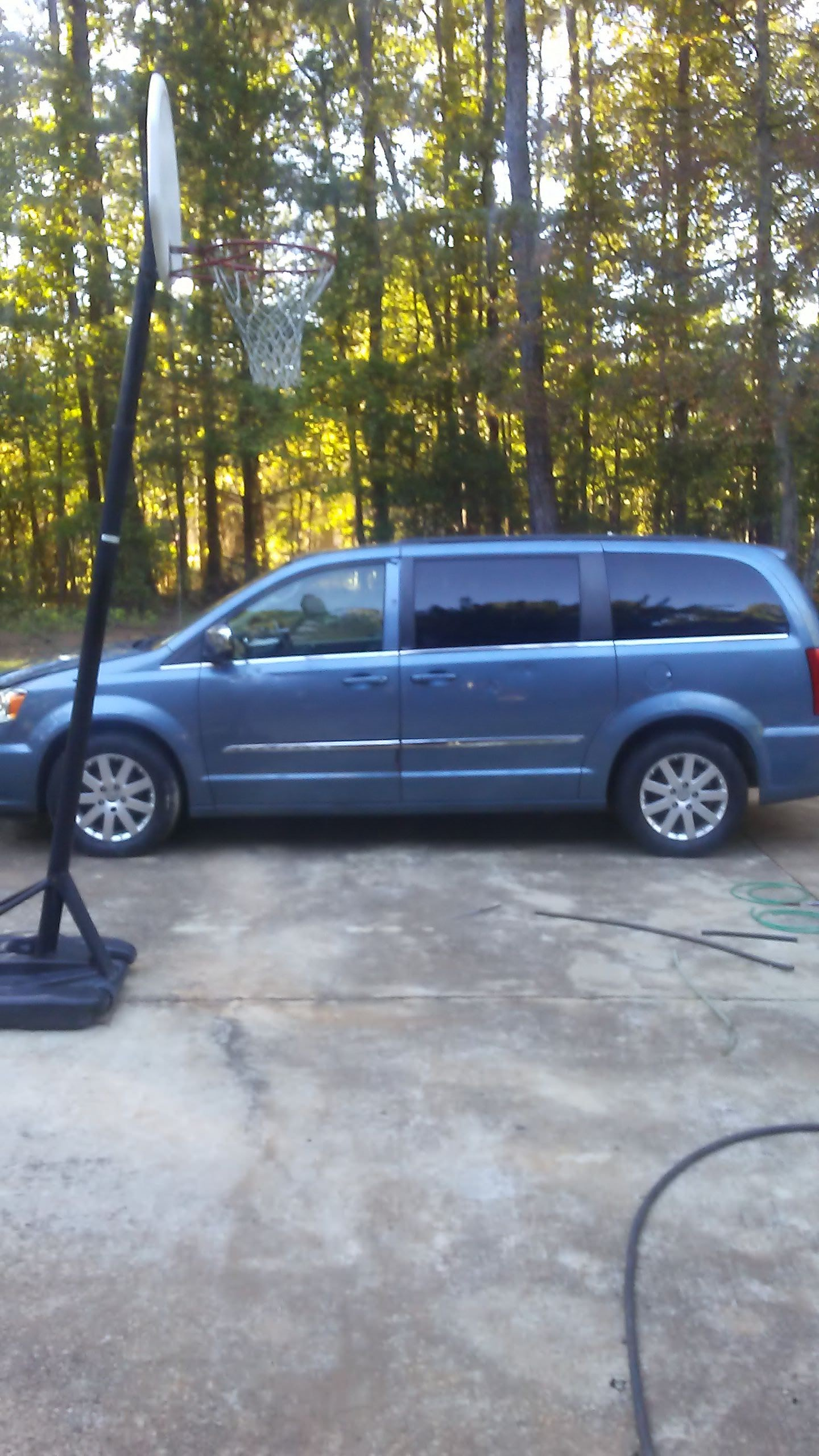 Junk 2011 Chrysler Town & Country in Blythewood