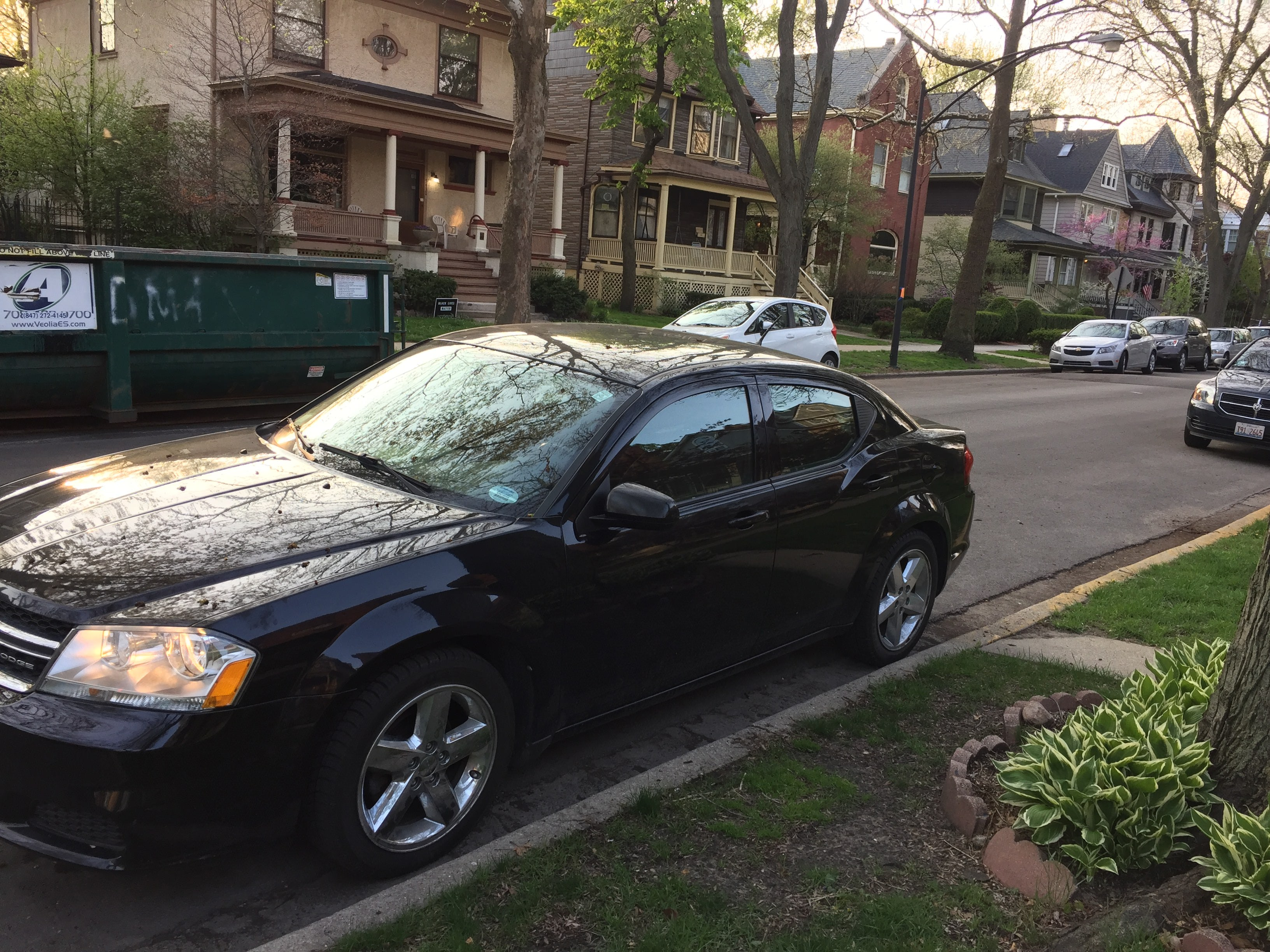 Junk 2011 Dodge Avenger in Buffalo Grove