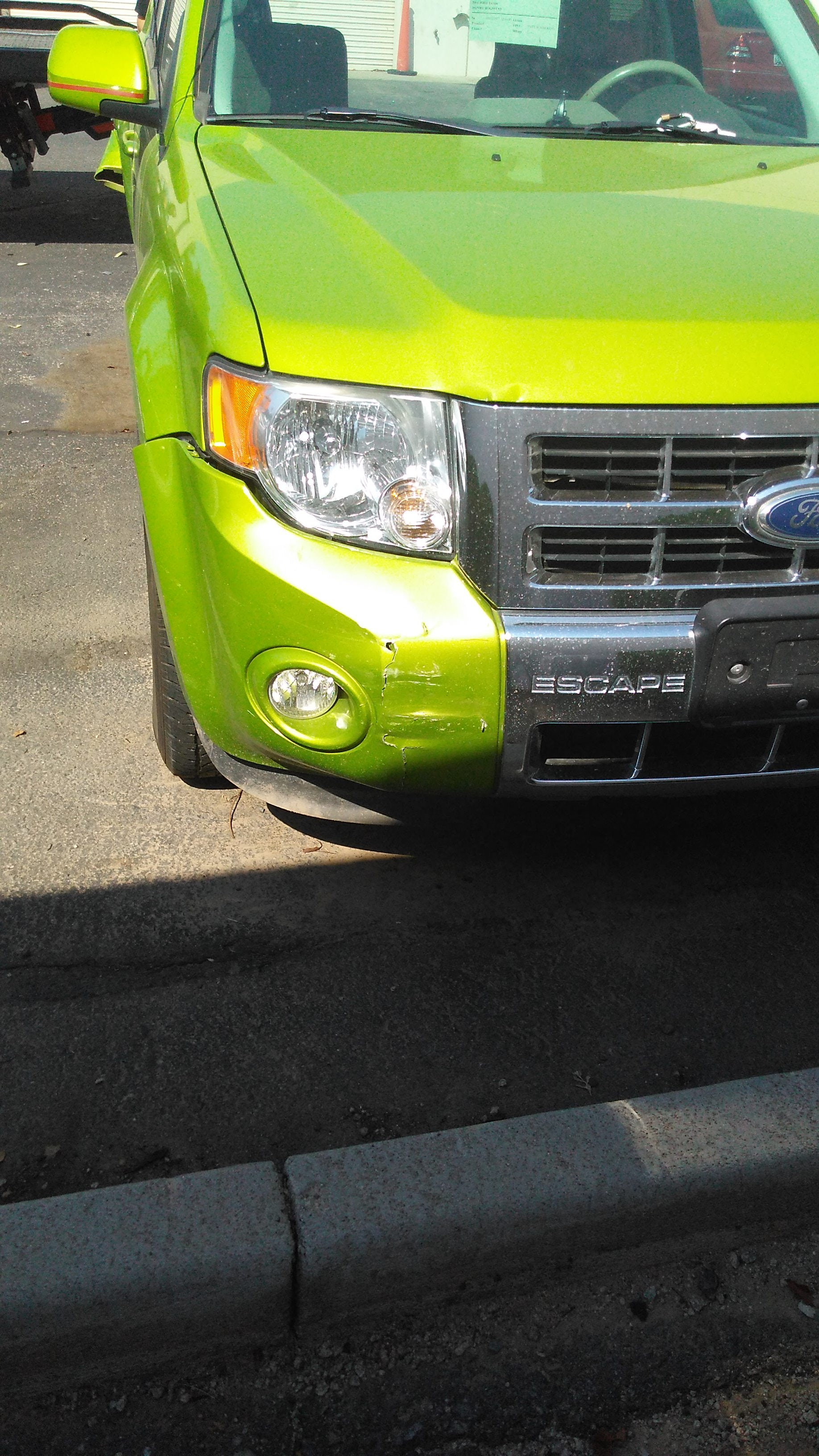 Junk 2011 Ford Escape in Chandler