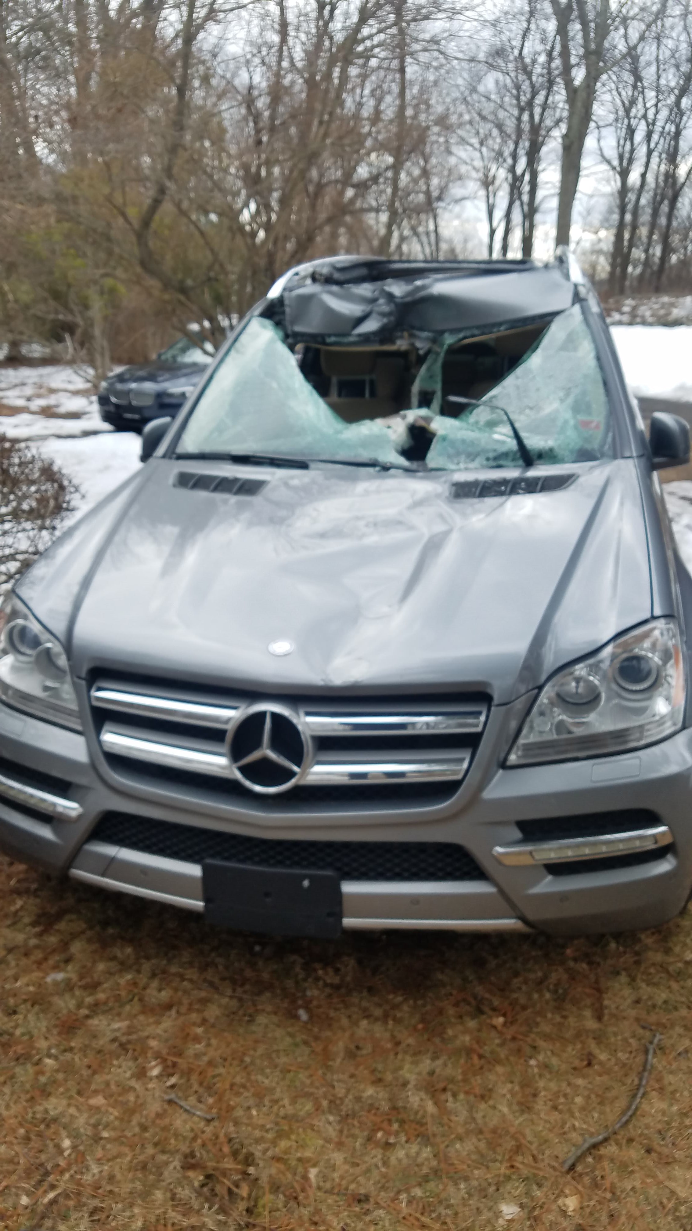 Junk 2011 Mercedes-Benz GL in Trumbull