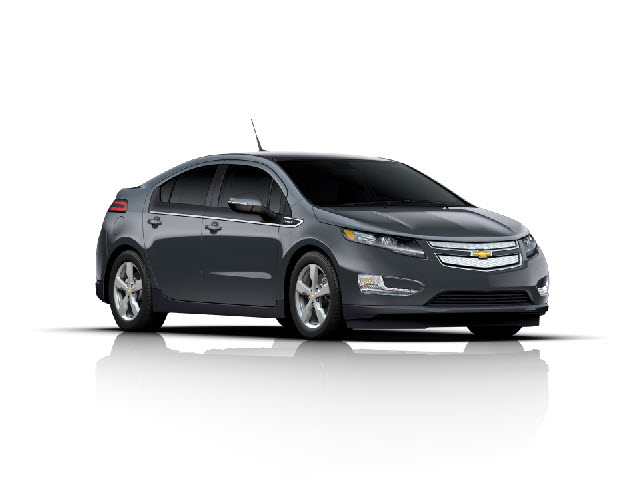 Junk 2012 Chevrolet Volt in Los Angeles