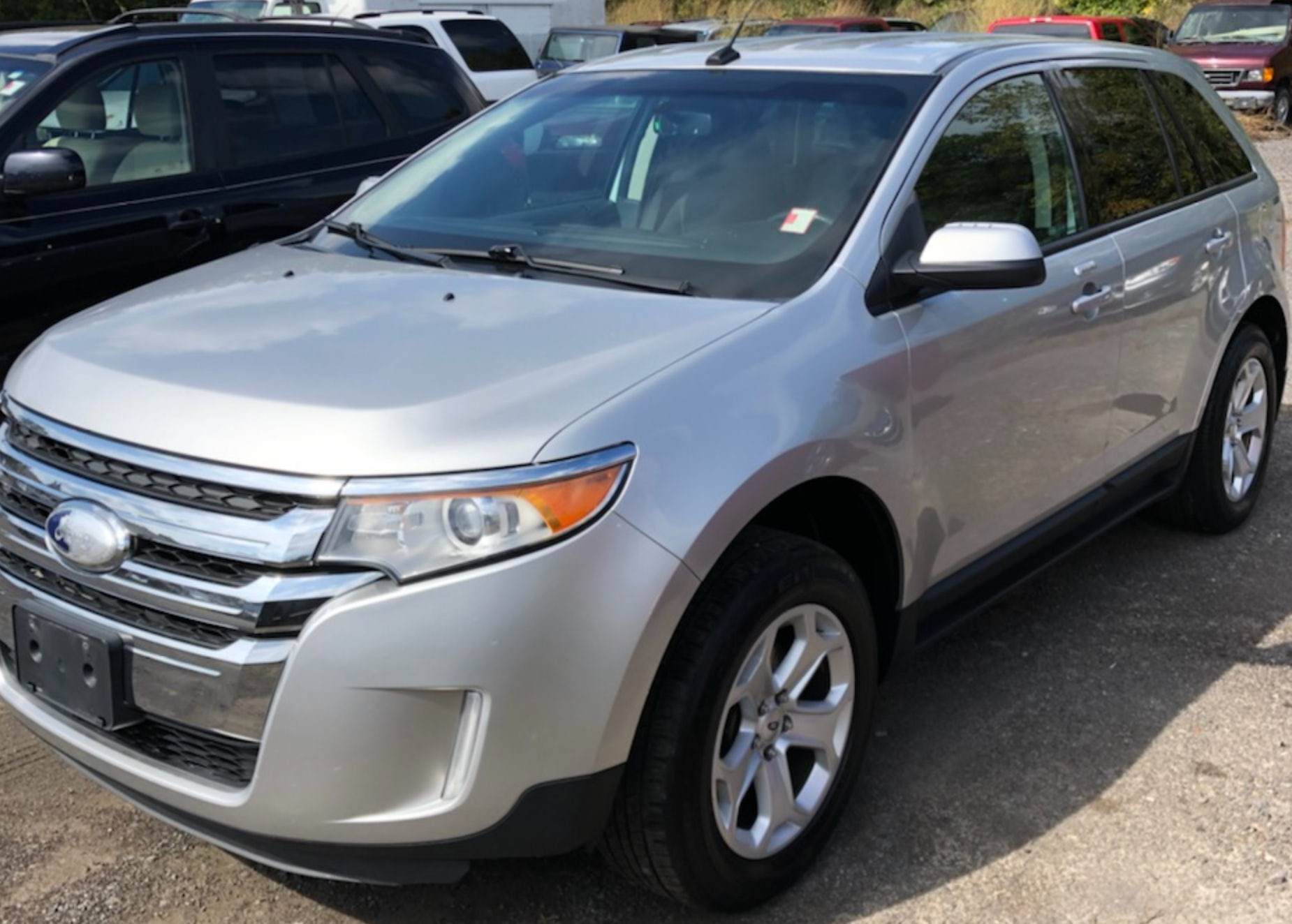 Junk 2012 Ford Edge in Webster