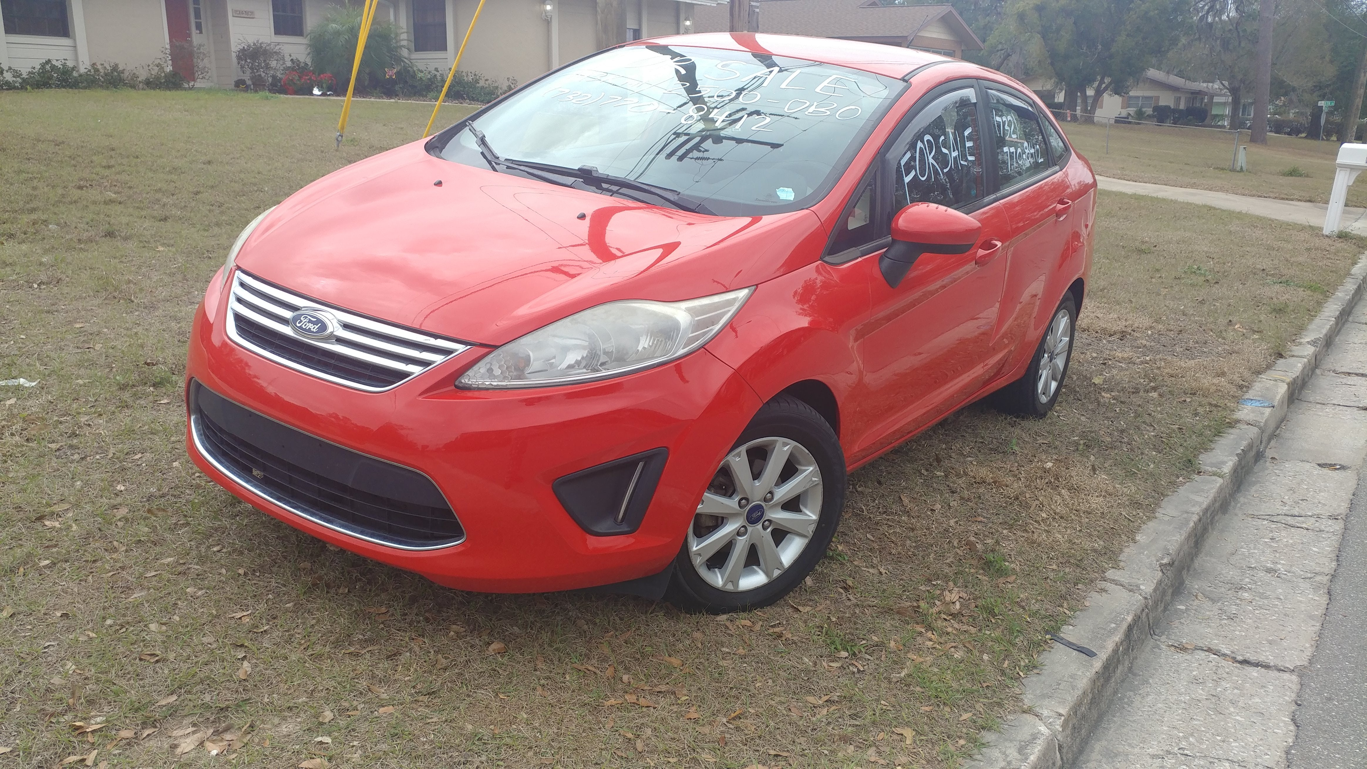 Junk 2012 Ford Fiesta in Clermont