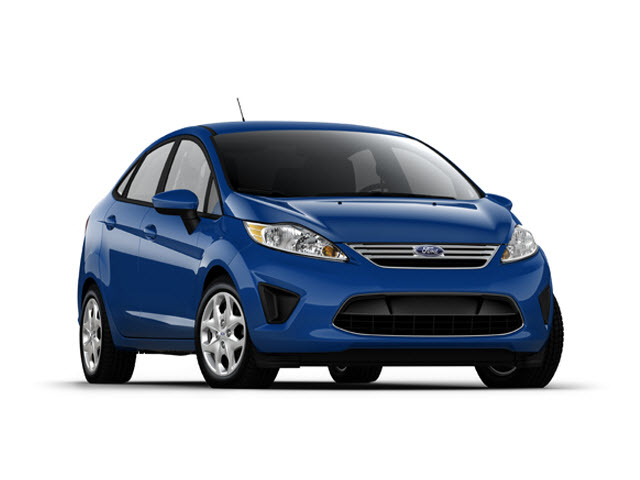Junk 2012 Ford Fiesta in Vista
