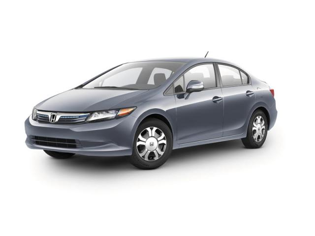 Junk 2012 Honda Civic in Atascadero
