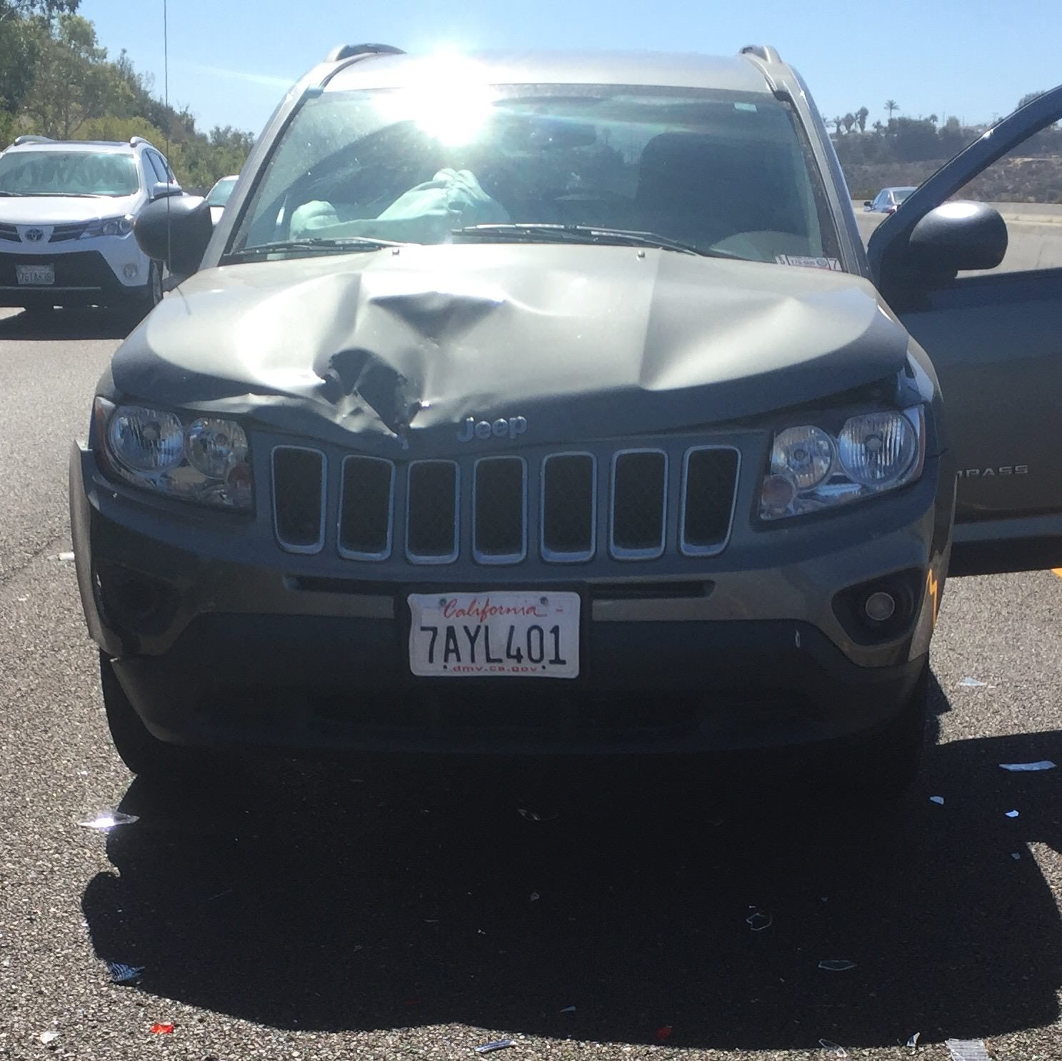 Junk 2012 Jeep Compass in Oceanside