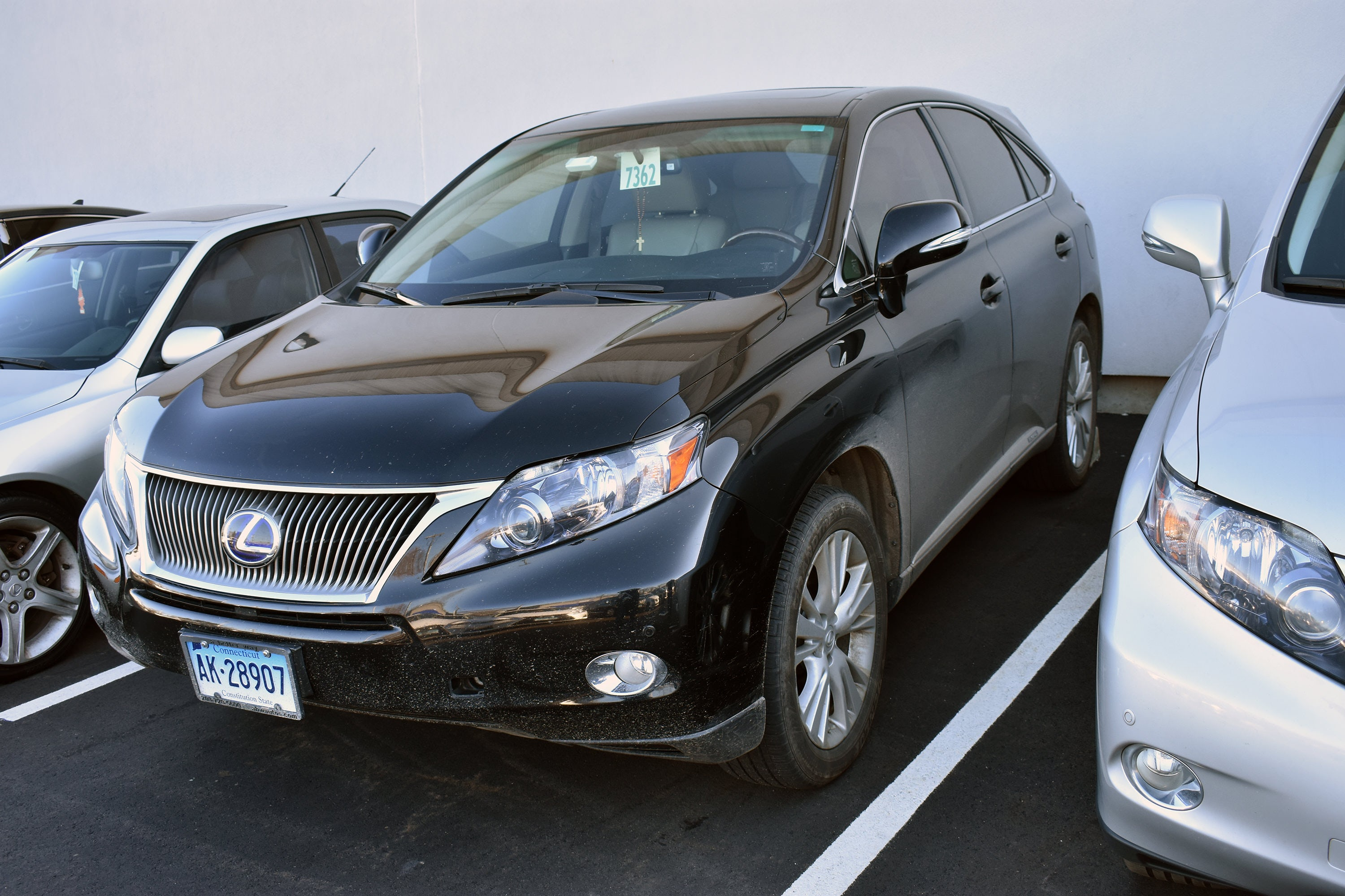 Junk 2012 Lexus RX in East Hartford