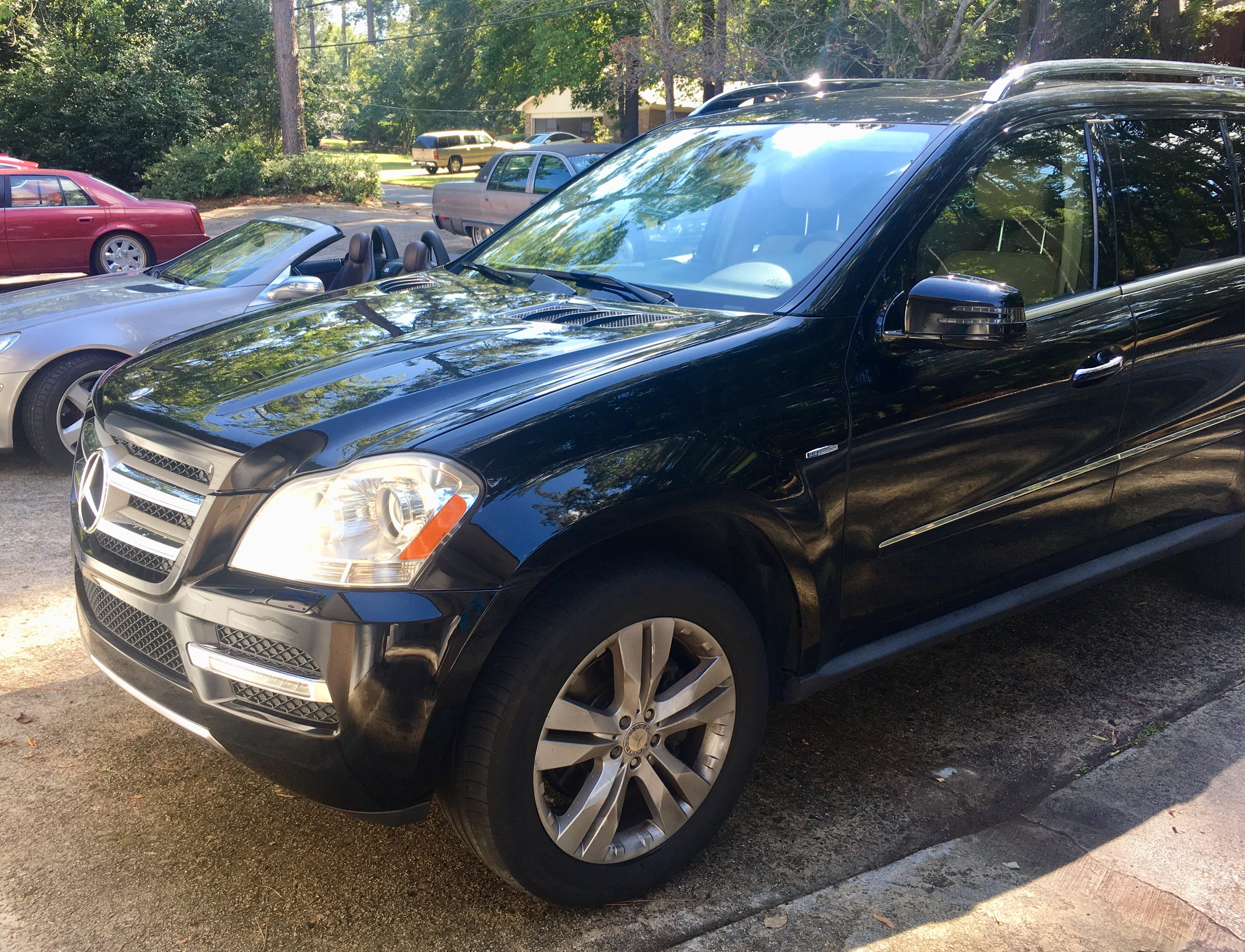 Junk 2012 Mercedes-Benz GL in Augusta