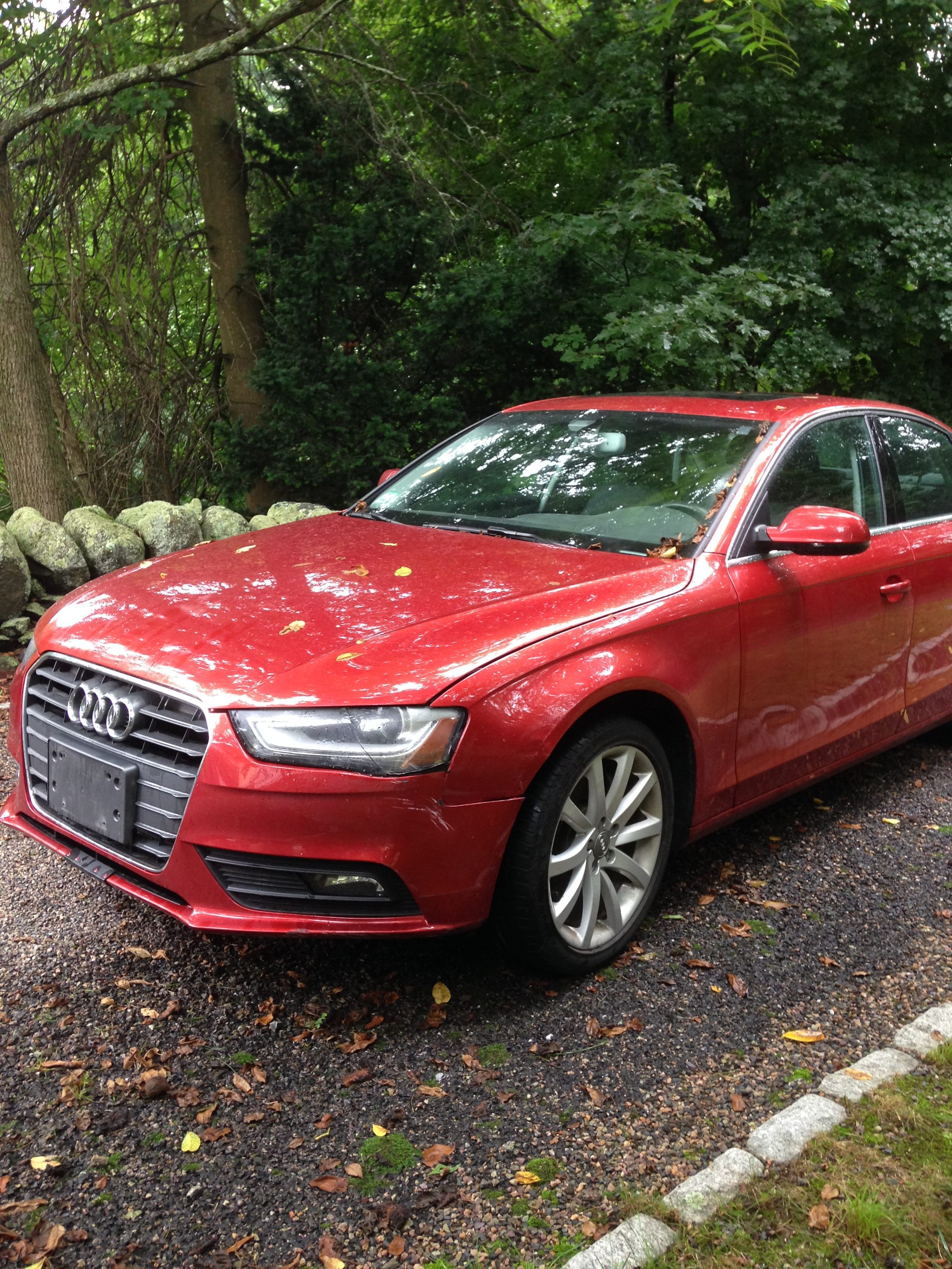 Junk 2013 Audi A4 in Lexington