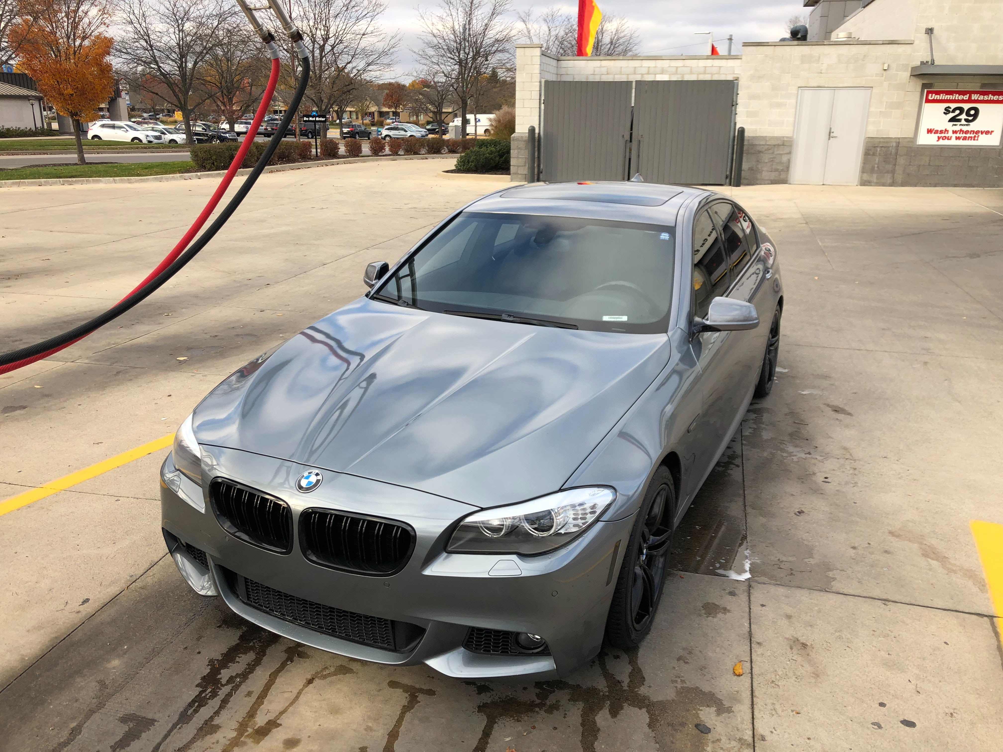 Junk 2013 BMW 550 in West Lafayette