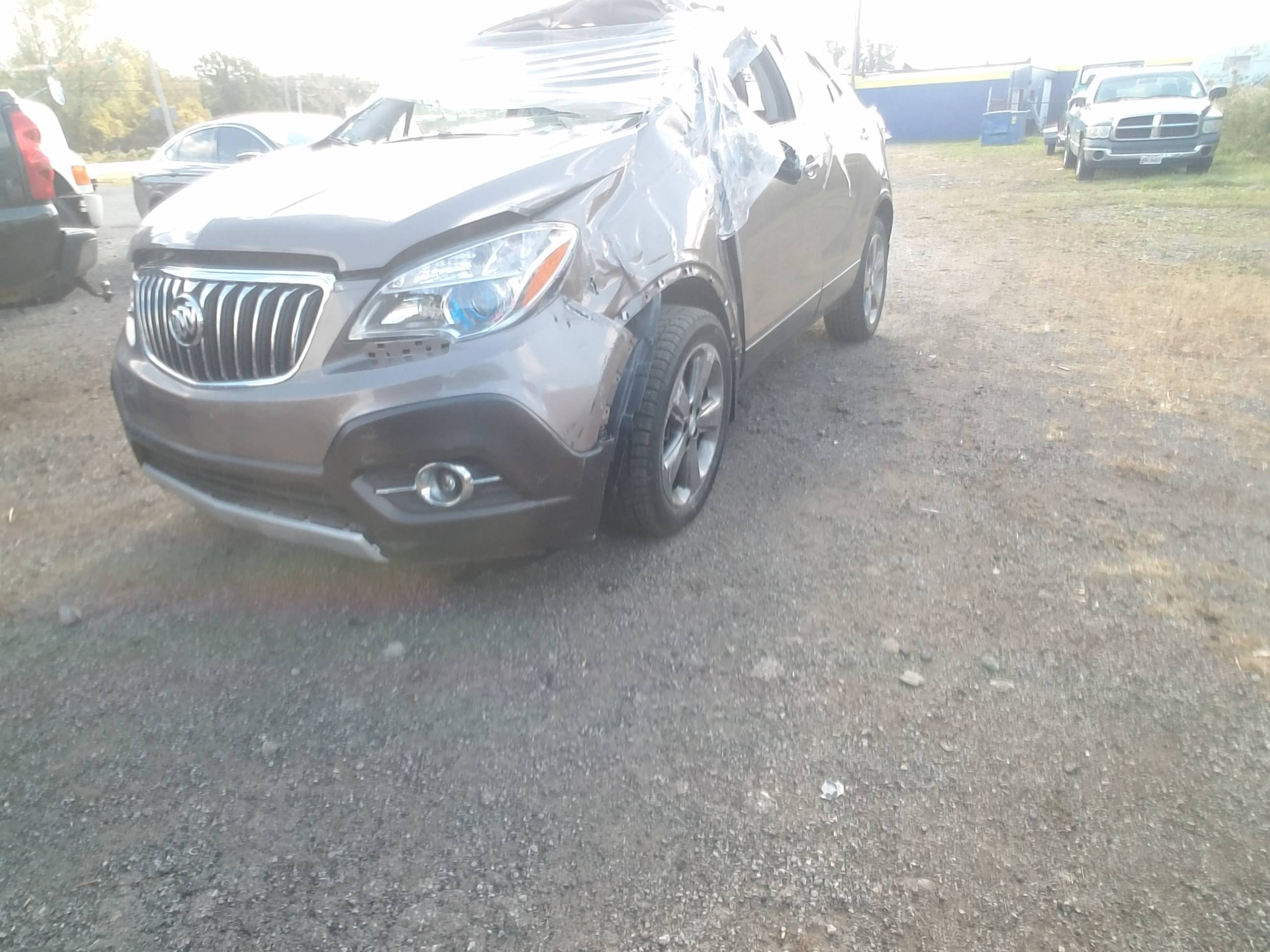 Junk 2013 Buick Encore in Lorain