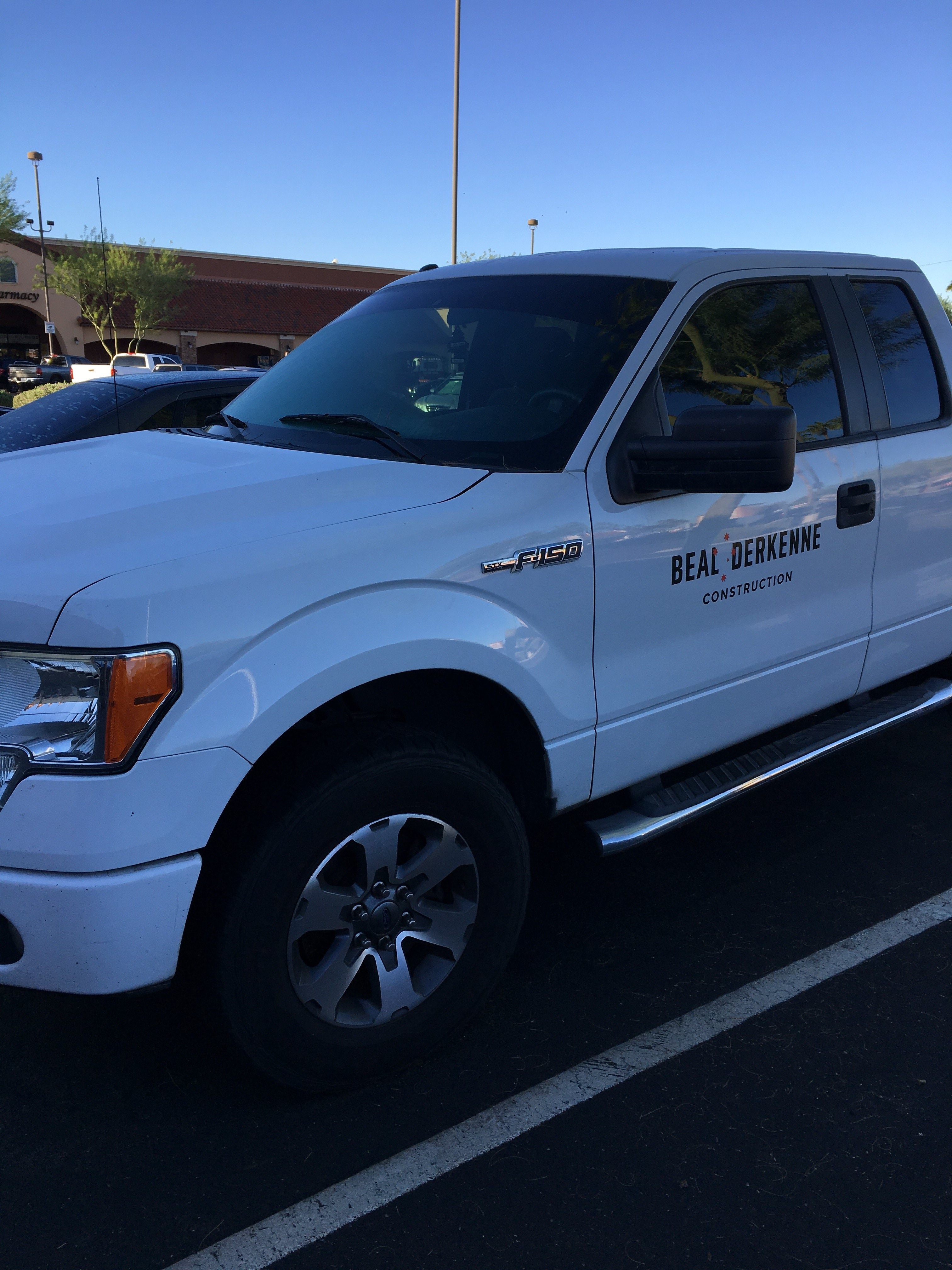 Junk 2013 Ford F150 in Glendale