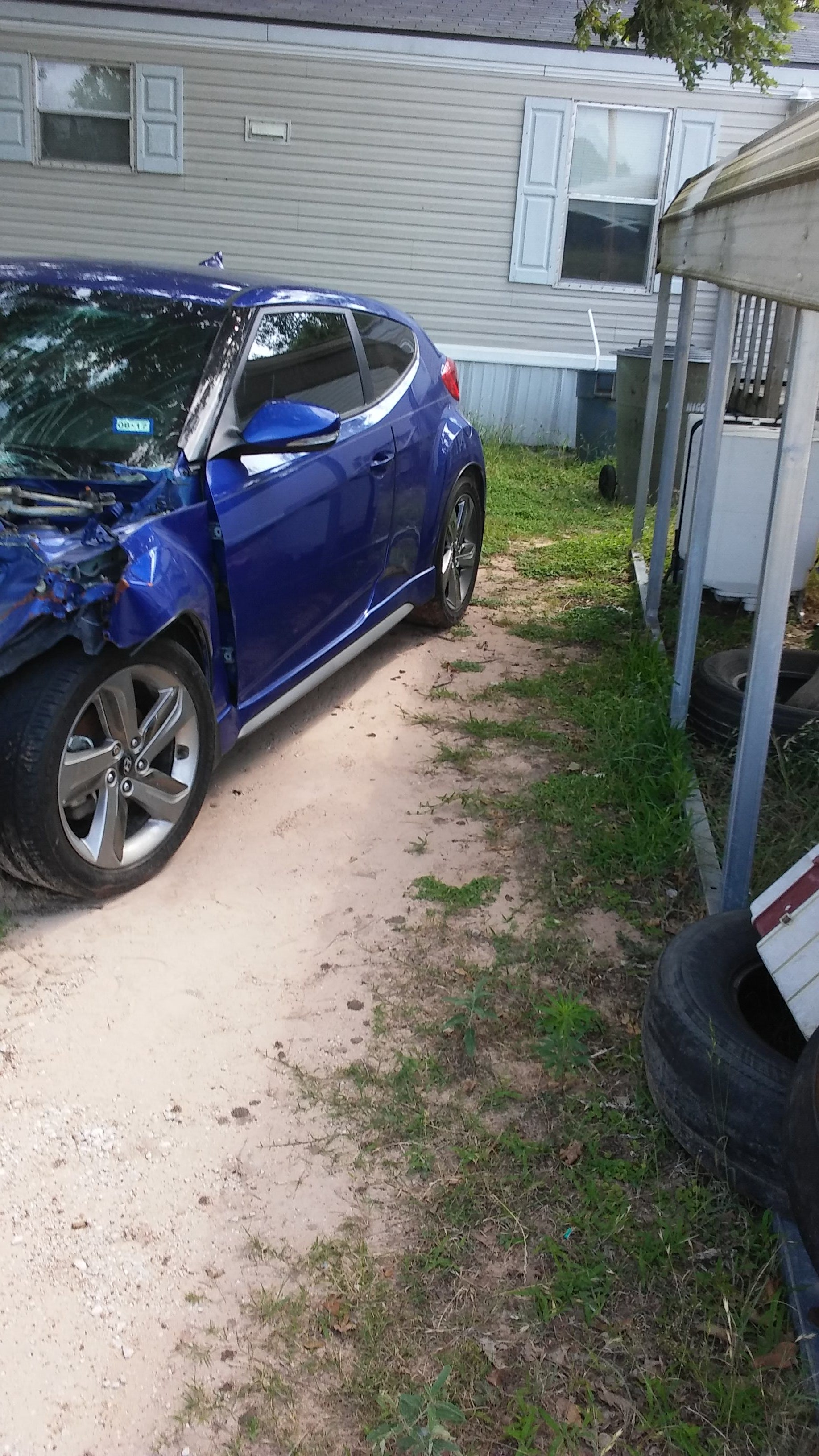 Junk 2013 Hyundai Veloster in College Station