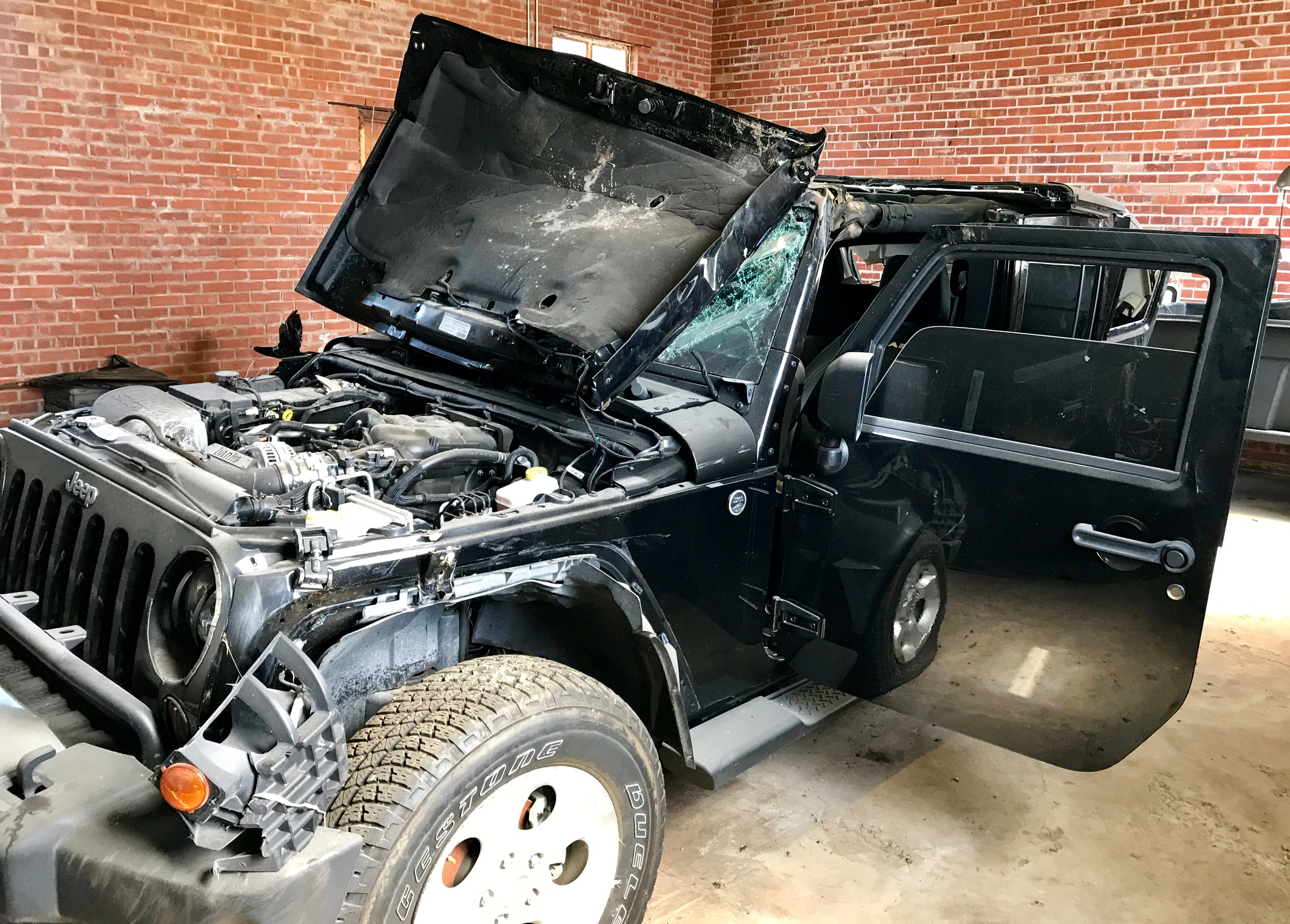 Junk 2013 Jeep Wrangler Unlimited in Muskogee
