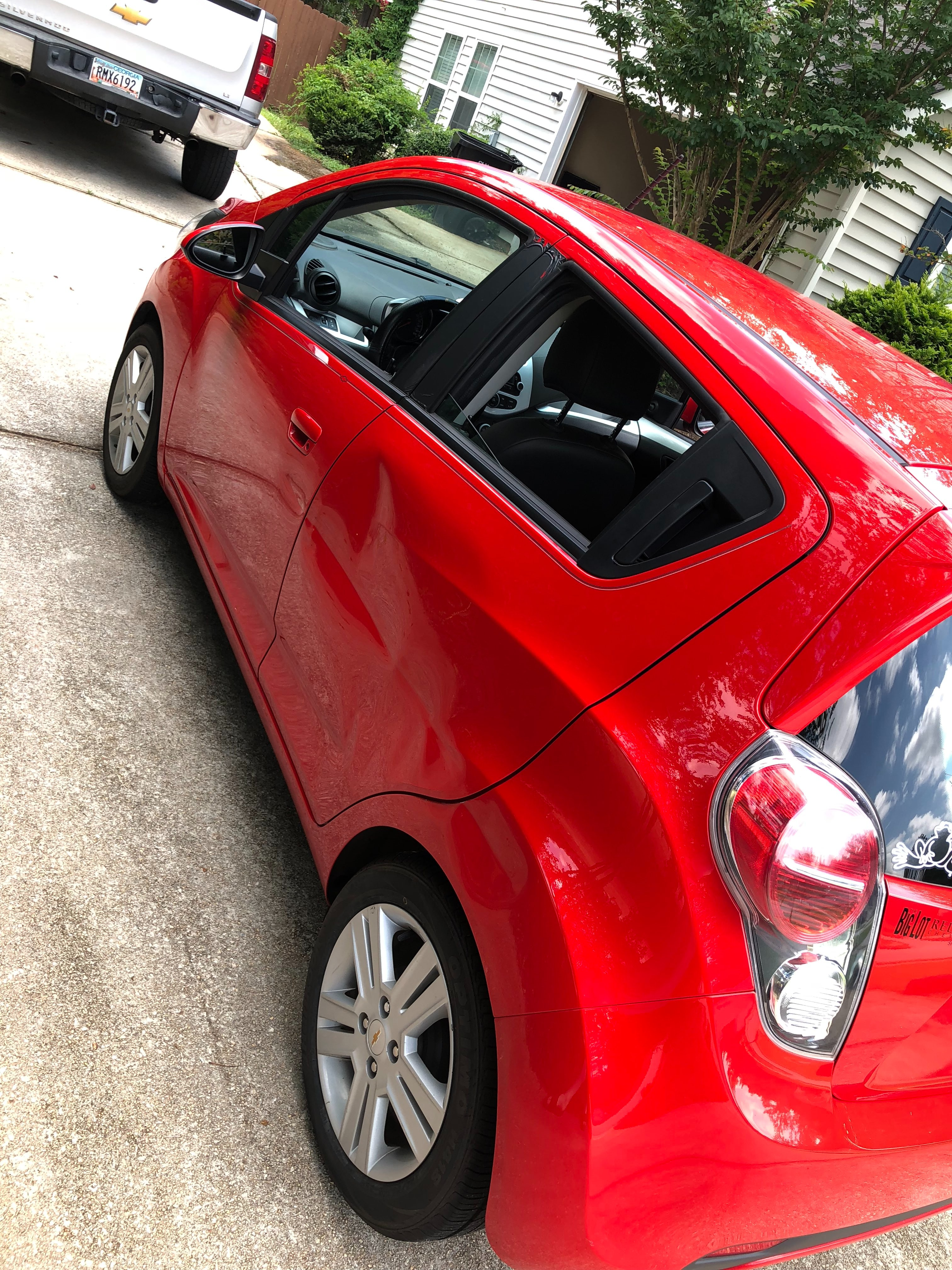 Junk 2014 Chevrolet Spark in McDonough