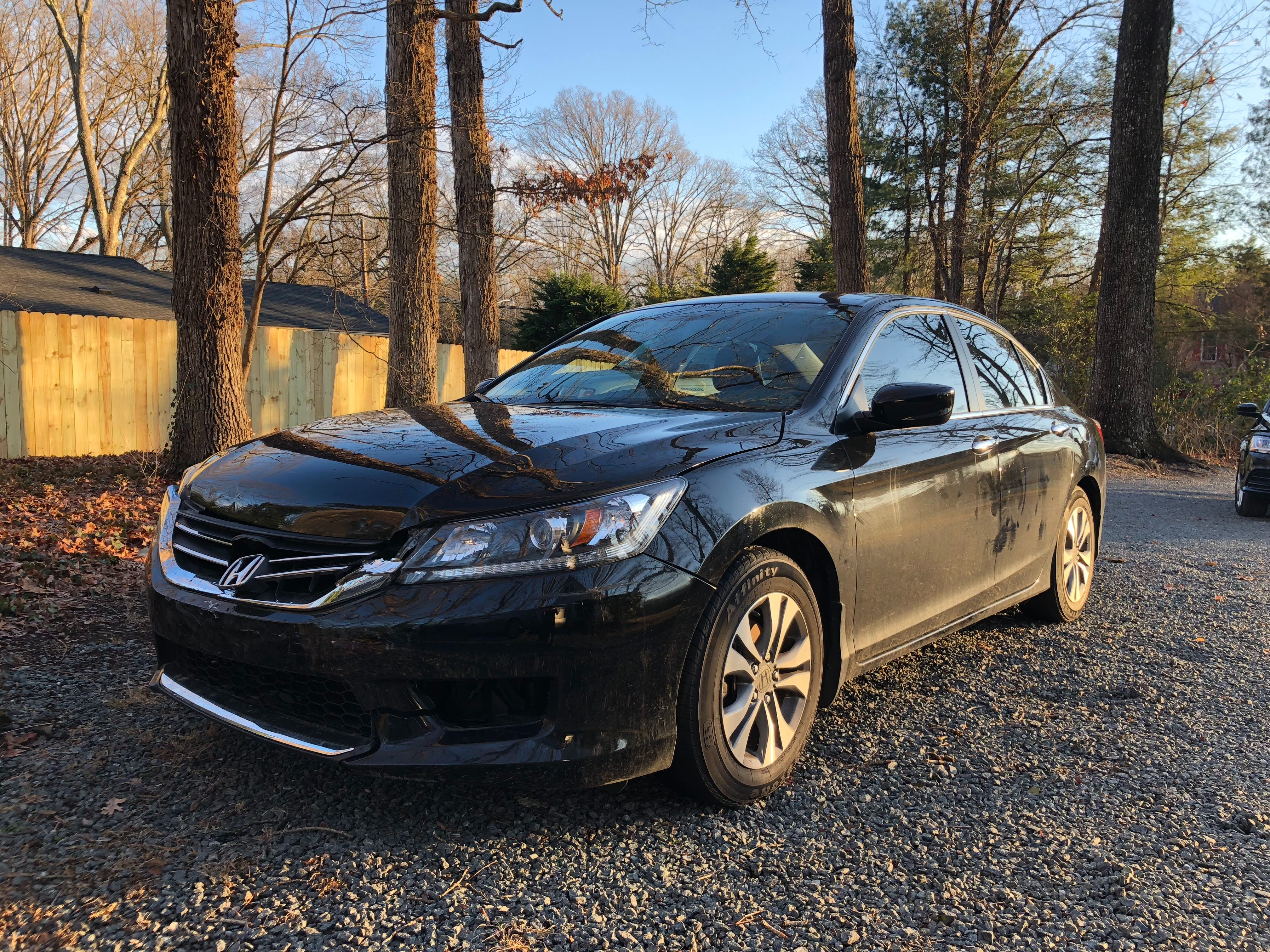 Junk 2014 Honda Accord in Winston Salem