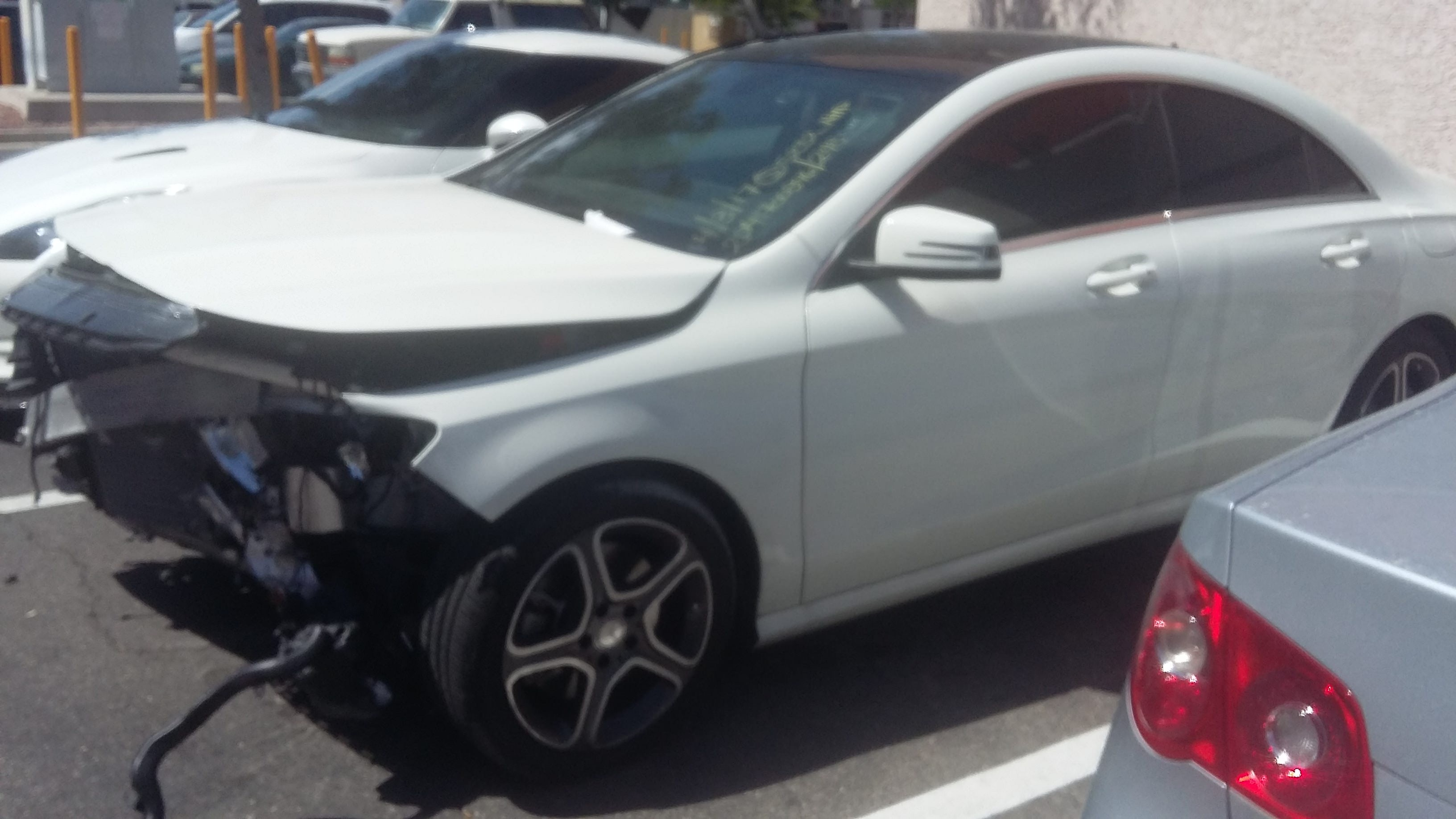 Junk 2014 Mercedes-Benz CLA in Las Vegas