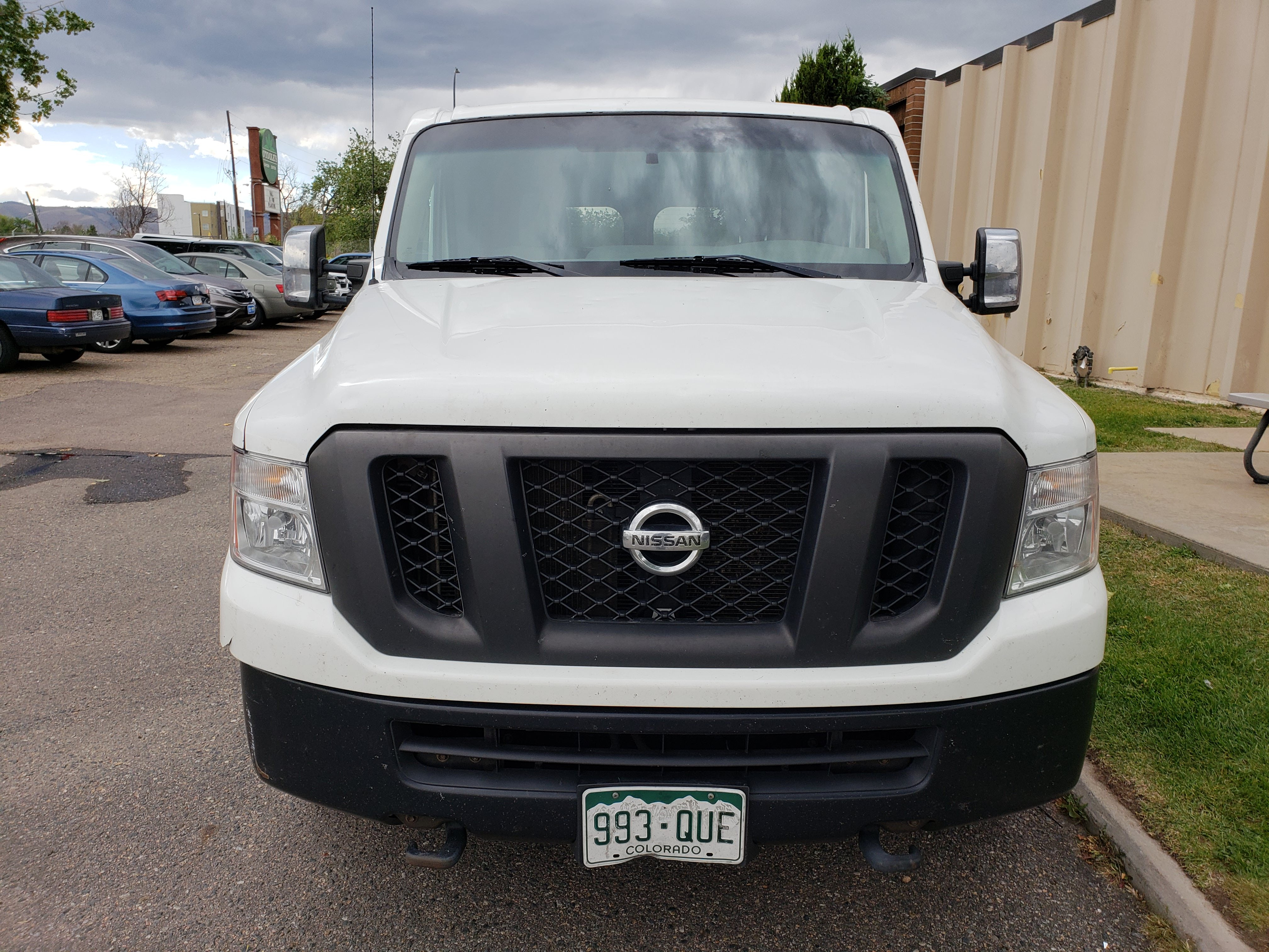 Junk 2014 Nissan NV in Denver