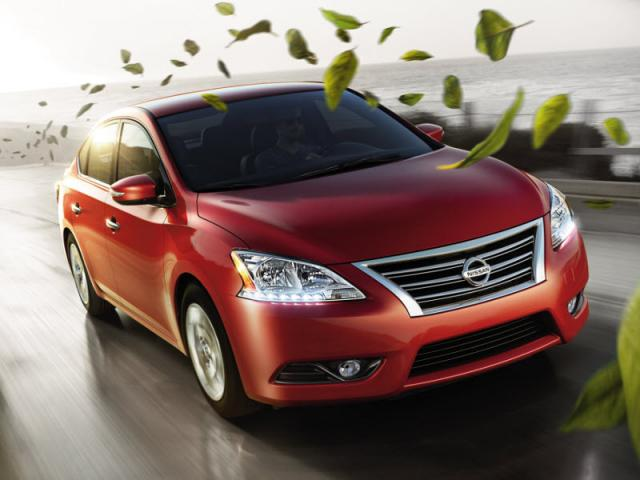 Junk 2014 Nissan Sentra in Chicago