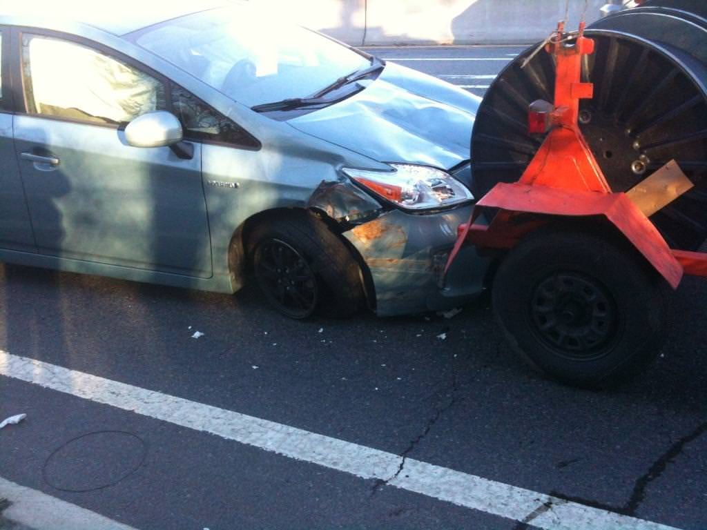 Junk 2014 Toyota Prius in Providence