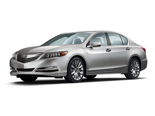 Junk 2015 Acura RLX in Long Beach