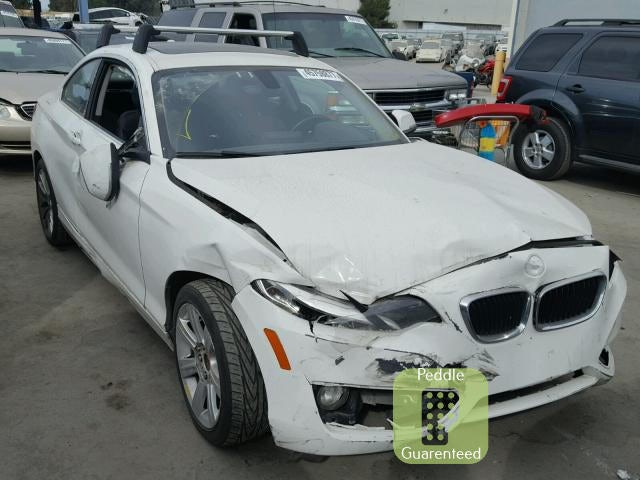 Junk 2015 BMW 228 in Hayward