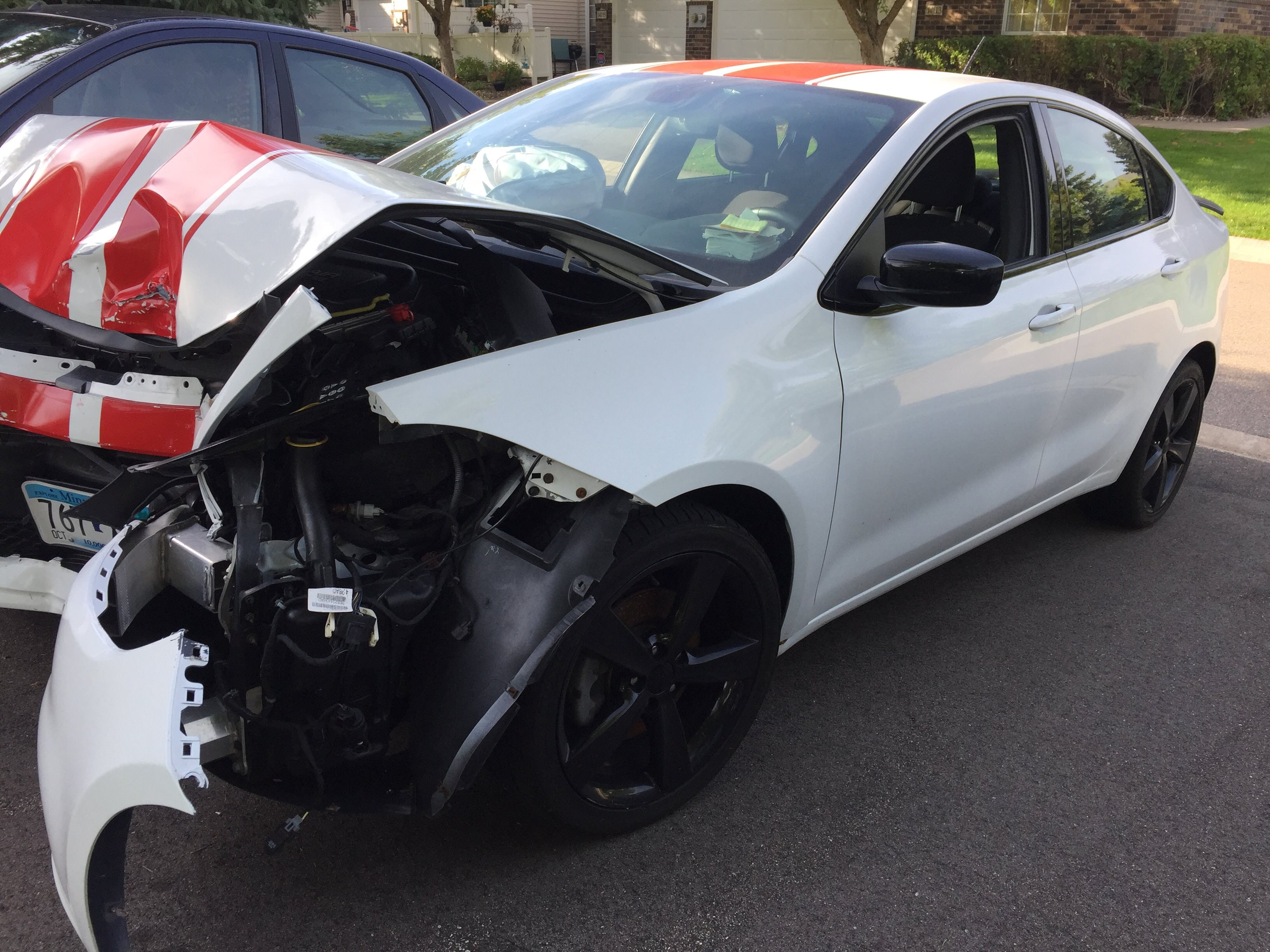 Junk 2015 Dodge Dart in Burnsville