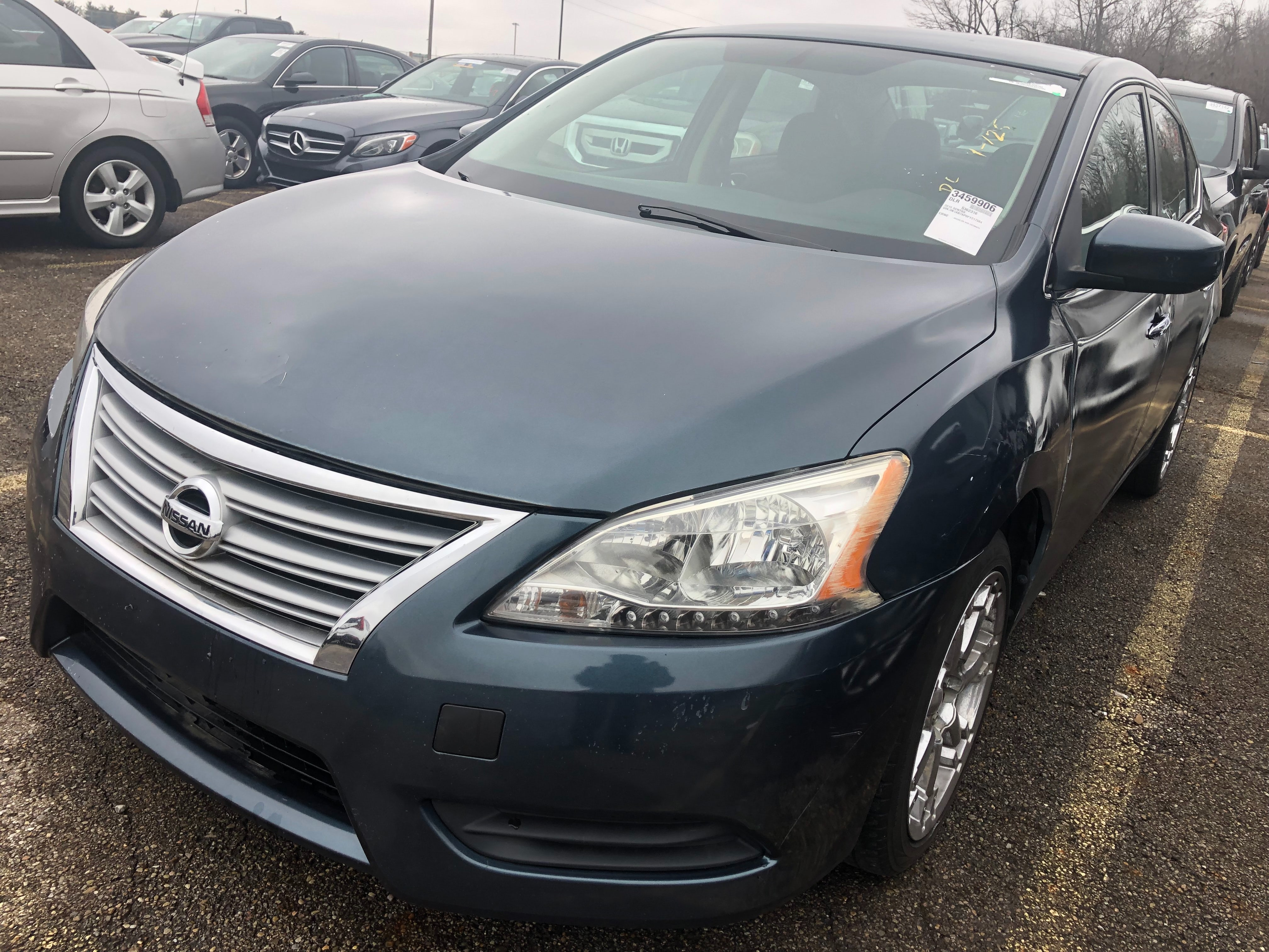 Junk 2015 Nissan Sentra in Grove City