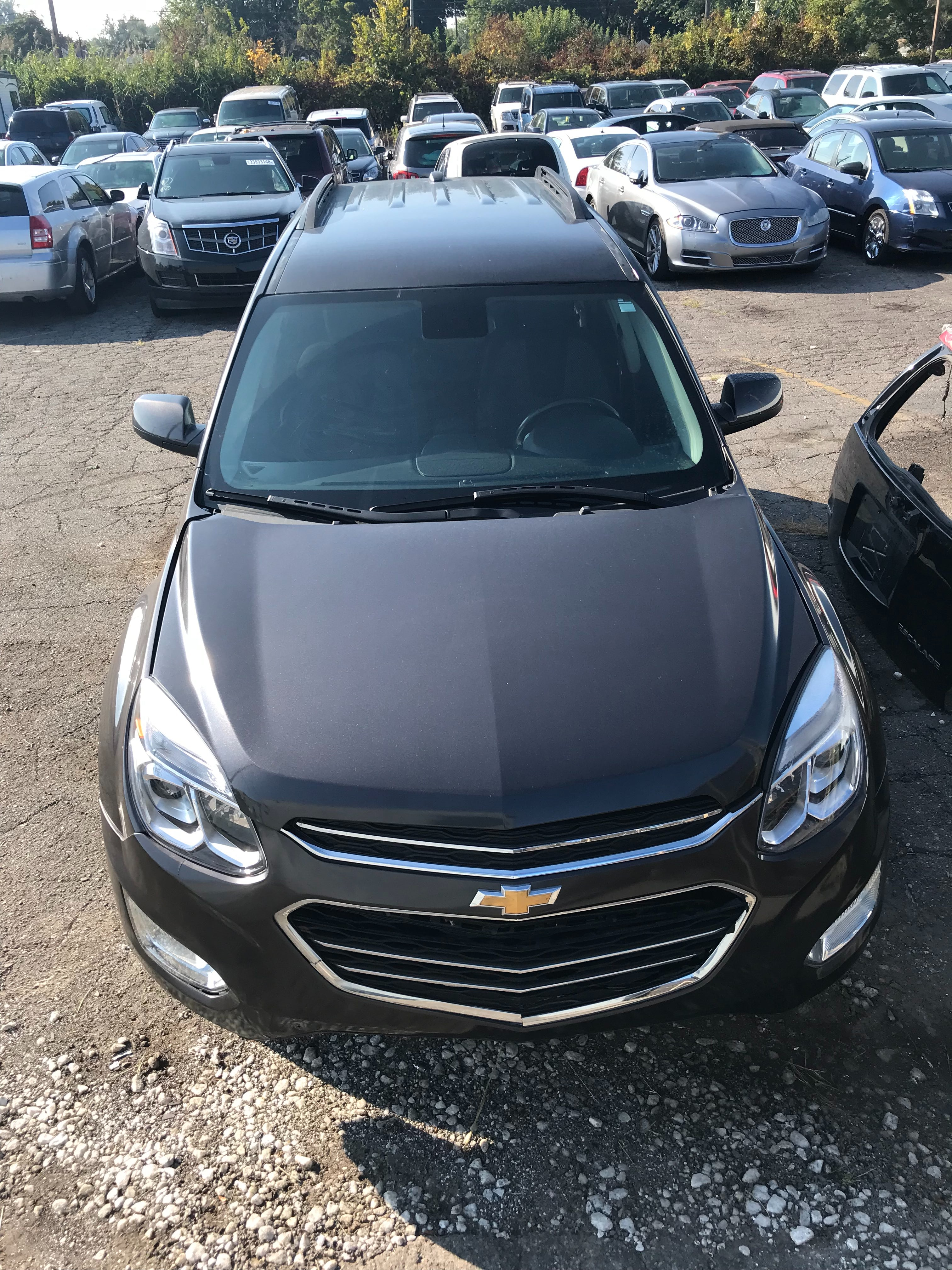 Junk 2016 Chevrolet Equinox in Wayne