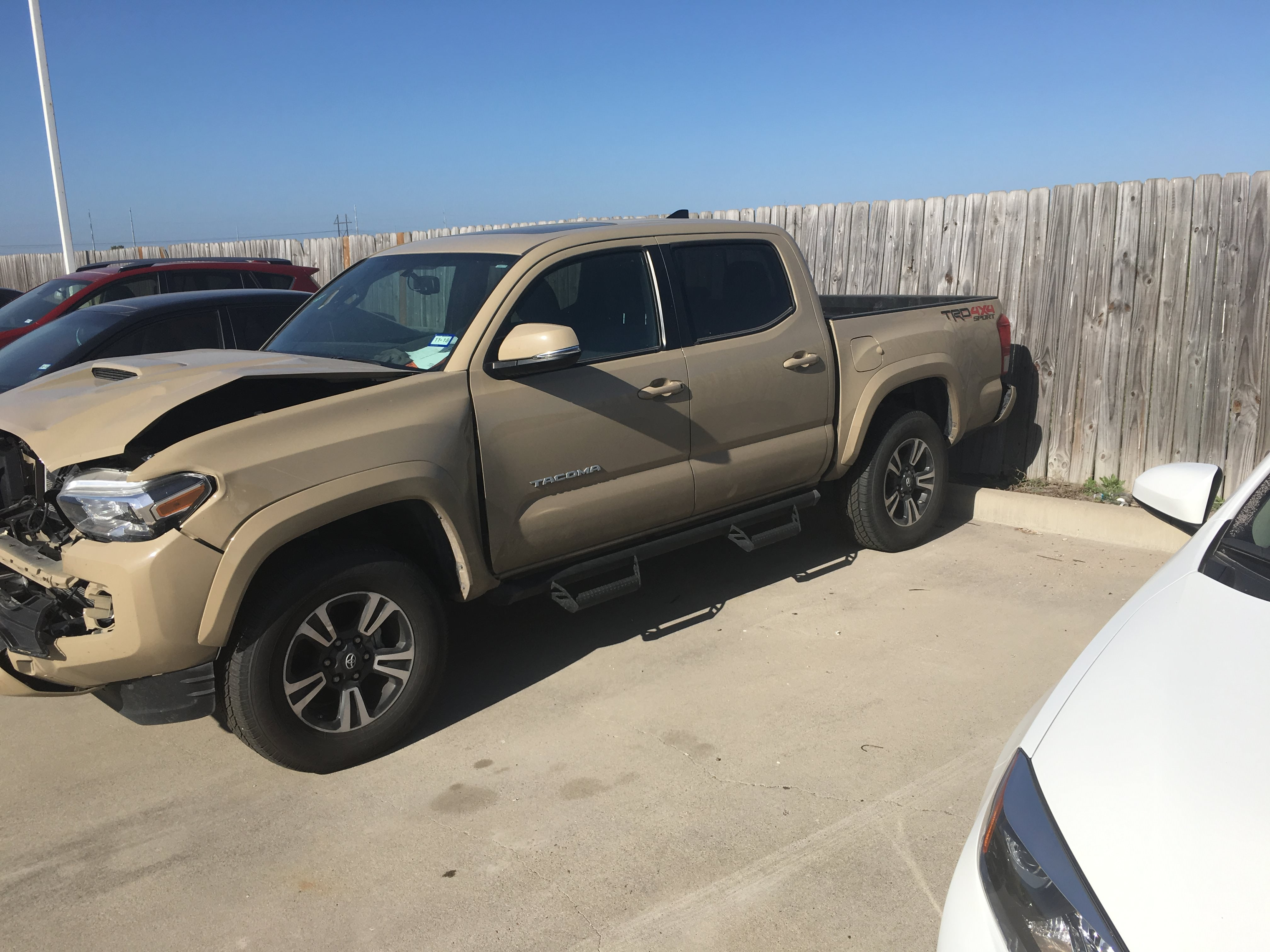 Junk 2017 Toyota Tacoma in Robstown